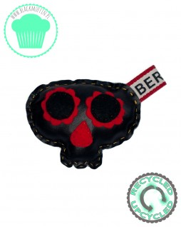 SugarSkull - meksykańska czaszka - BERLIN eco skóra