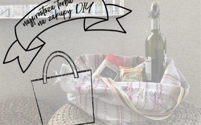 Prosta torba na zakupy DIY | Zrób to sam